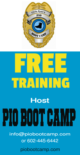 PIO Boot Camp Hosting - Police Social Media Boot Camp